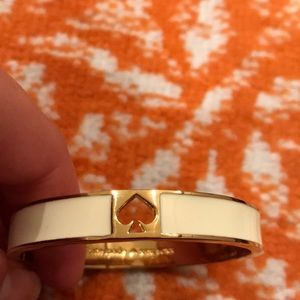Ivory and gold Kate spade bangle